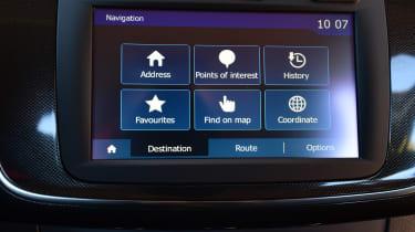 Dacia Sandero 2017 facelift screen