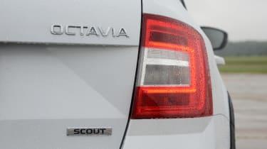Skoda Octavia Scout review - rear light