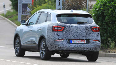 Renault Kadjar - spyshot 11