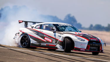 Nissan GT-R 1,390bhp drift car - drift 1