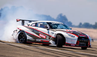 Nissan GT-R 1,390bhp drift car - drift 1