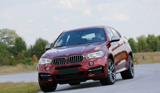 New BMW X6 M50d 2014 front