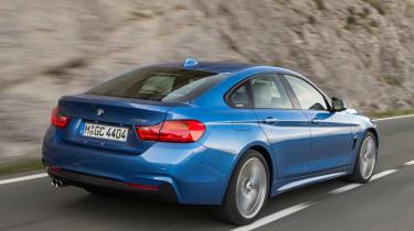 BMW 4 Series Gran Coupe 2014 rear