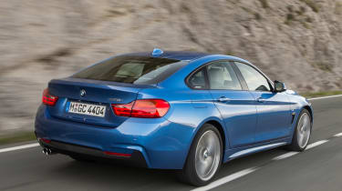 BMW 4 Series Gran Coupe 2014 rear