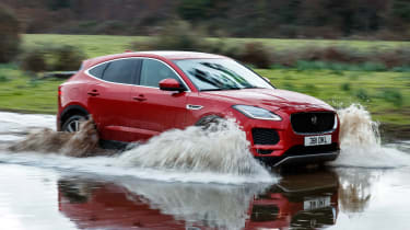 Jaguar E-Pace 240D diesel - off-road