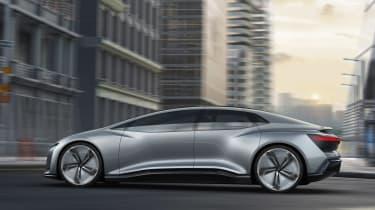 Audi Aicon concept - side