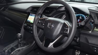 Honda Civic long-term review - steering wheel