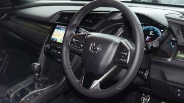 Honda Civic long-term review - steering wheel