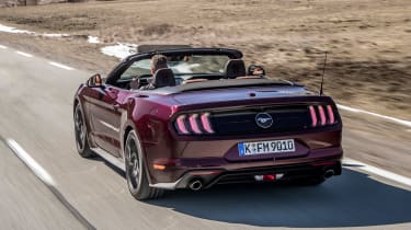 Ford Mustang EcoBoost Convertible - rear