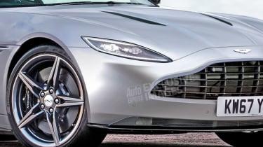 Aston Martin Vantage - front detail (watermarked)