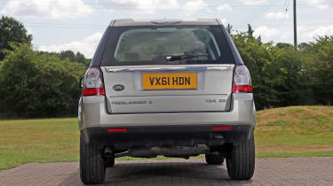 Used Land Rover Freelander 2 - full rear