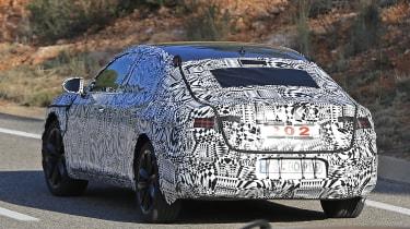 VW Arteon 2017 spy shot 5