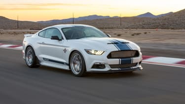 Shelby Mustang Super Snake front quarter dynamic