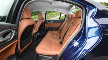 Alfa Romeo Giulia long term test - first report rear seats