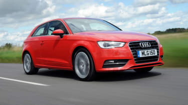 Audi A3 front tracking