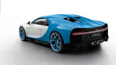 Bugatti Chiron - cream/blue