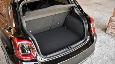 Fiat 500 X Sport - boot