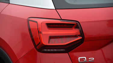 Audi Q2 - rear light detail