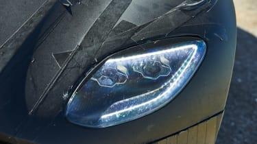 Aston Martin DBS Superleggera prototype - front light