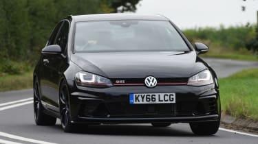 Volkswagen Golf GTI Clubsport UK 2016 - front cornering 2