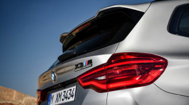 BMW X3 M Competition - rear detail