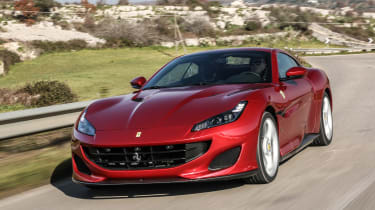 Ferrari Portofino - front action