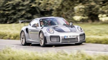 Porsche 911 GT2 RS - front/side action
