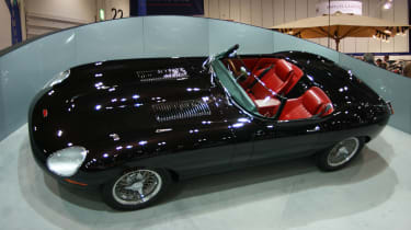 Eagle Speedster at the London Classic Car Show
