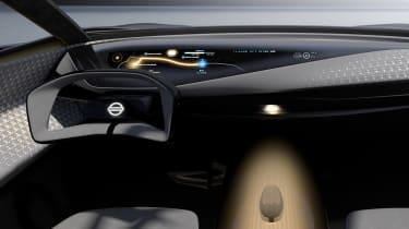 Nissan IMQ concept - dash