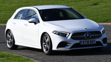 Mercedes A-Class long-term test review - front cornering