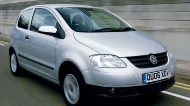Front view of Volkswagen Fox