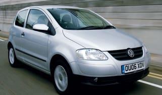 Front view of Volkswagen Fox