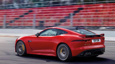 Jaguar F-Type MY2017 - rear tracking