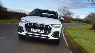 Audi Q5 40 TDI - front tracking