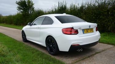 BMW 2 Series - rear static