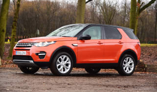 Used Land Rover Discovery Sport - front