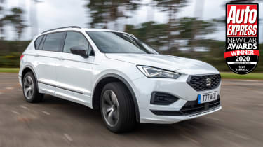With a wide range of engines and equipment levels, the seven-seat SEAT Tarraco is easily able to put up with the rough and tumble of family life.