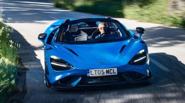 McLaren 765LT Spider - cornering