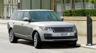 Range Rover PHEV - charging point