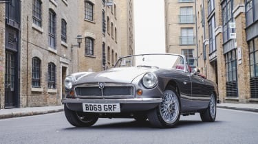 Electric MGB - front
