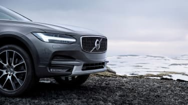 Volvo V90 Cross Country - official front detail 2