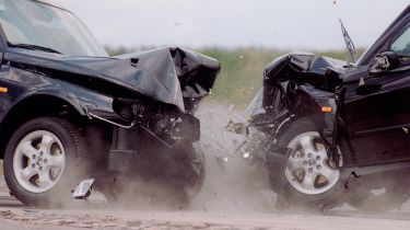 Saab crash, insurance, smash