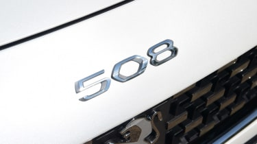 Peugeot 508 SW - 508 badge