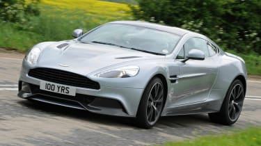 Aston Martin Vanquish Centenary Edition front action