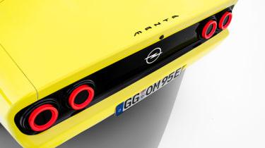 Opel Manta GSe ElektroMOD - rear lights