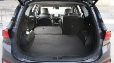 New Hyundai Santa Fe - boot seats down