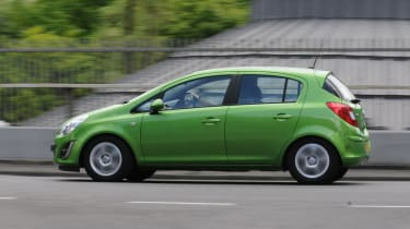 Vauxhall Corsa panning