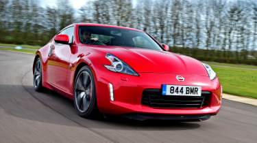 Nissan 370Z - front tracking