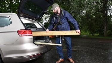 Long-term test review Volkswagen Passat Estate - first report loading