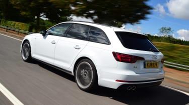 Audi A4 Avant - rear